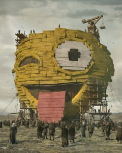 Beeple, The First Emoji. Part of the $69.3 million Everydays